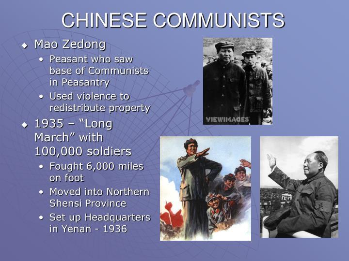 CHINESE COMMUNISTS