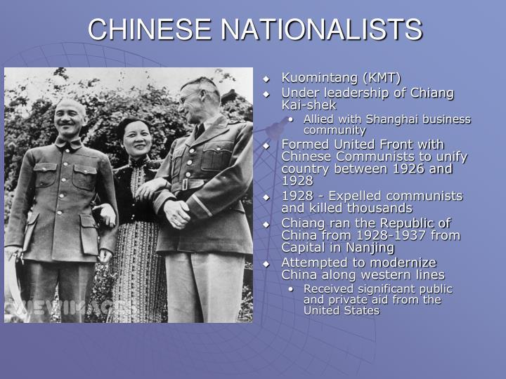 CHINESE NATIONALISTS