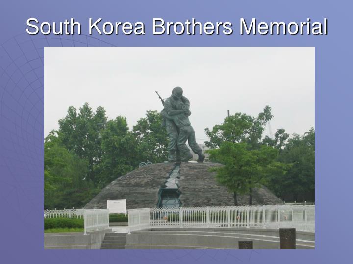 South Korea Brothers Memorial