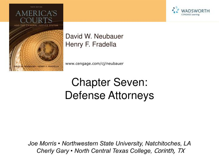 chapter seven defense attorneys n.