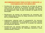 recomendaciones para evitar o reducir la contaminaci n por mercurio2