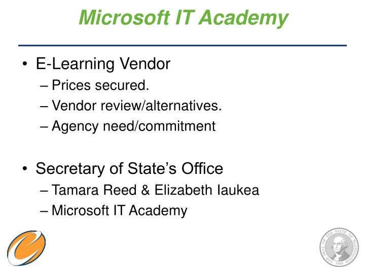 Microsoft IT Academy