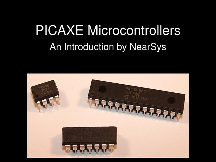 ppt picaxe microcontrollers powerpoint presentation id 6151650How To Build A Realtime Clock With A Picaxe #17