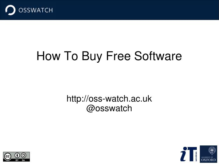 how to buy free software n.