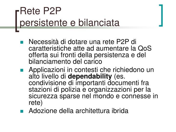 Rete P2P
