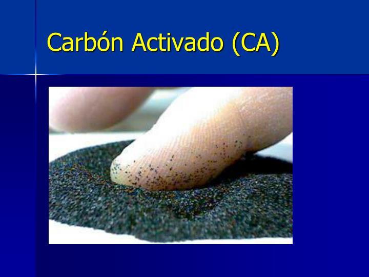 Carbón Activado (CA)