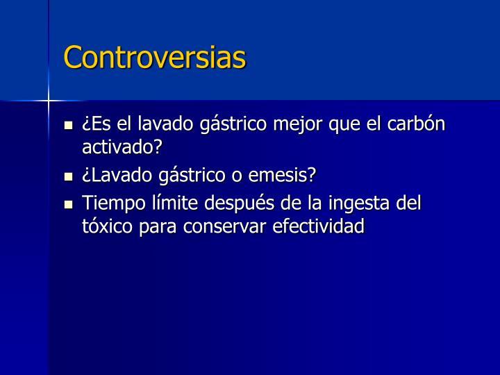 Controversias