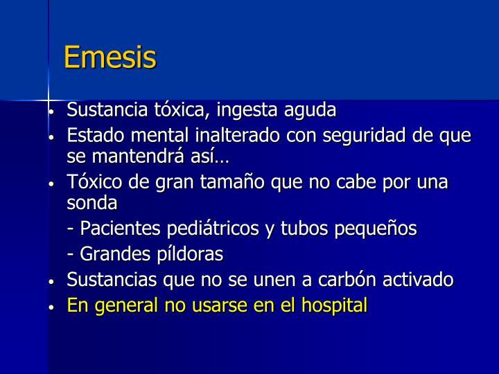 Emesis