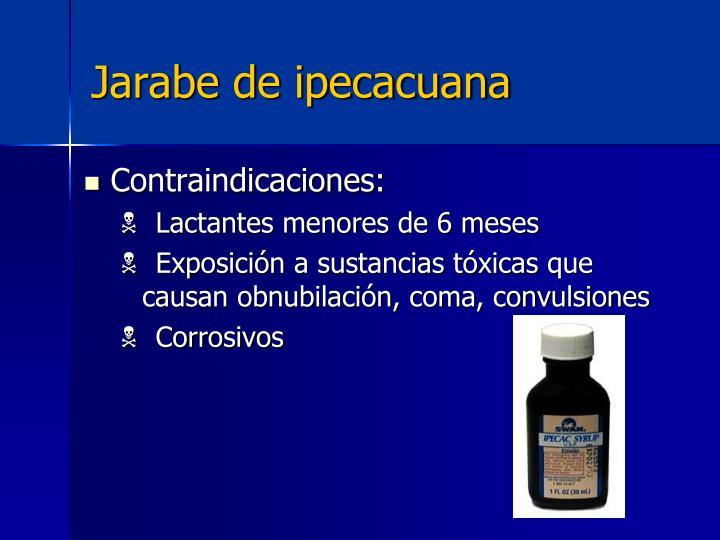 Jarabe de ipecacuana