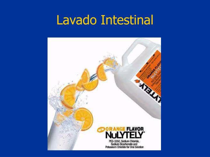 Lavado Intestinal