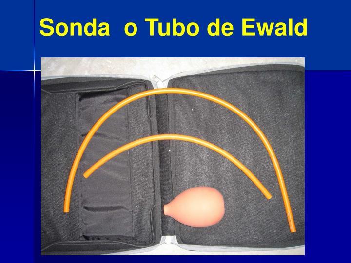 Sonda  o Tubo de Ewald