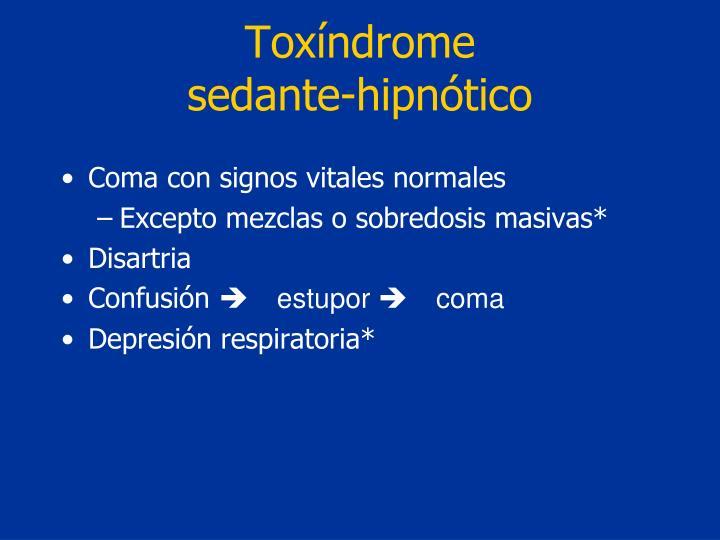 Toxíndrome