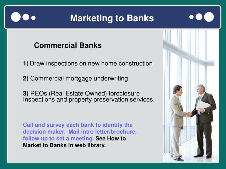 Marketing to Banks