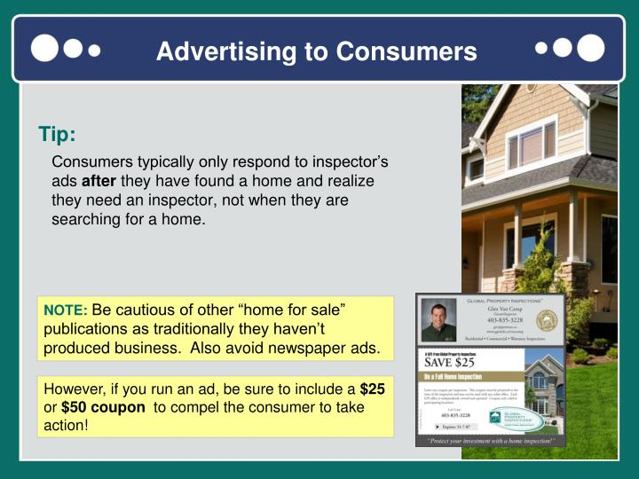 Advertising to Consumers
