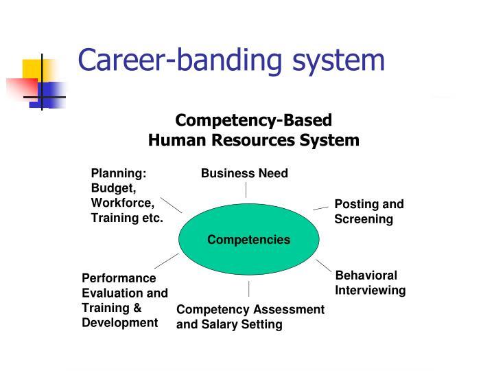 Career-banding system