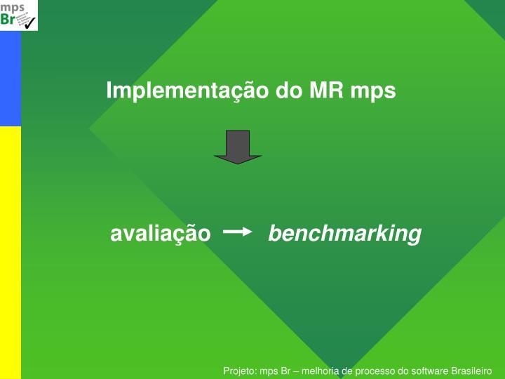 Implementação do MR mps