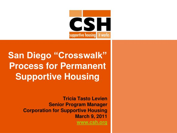 san diego crosswalk process for permanent supportive housing n.