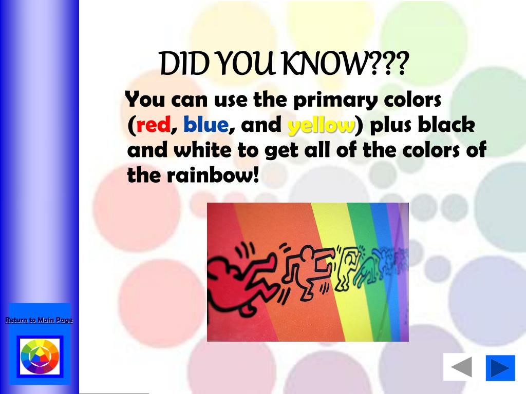 Ppt the color wheel powerpoint presentation id6152791