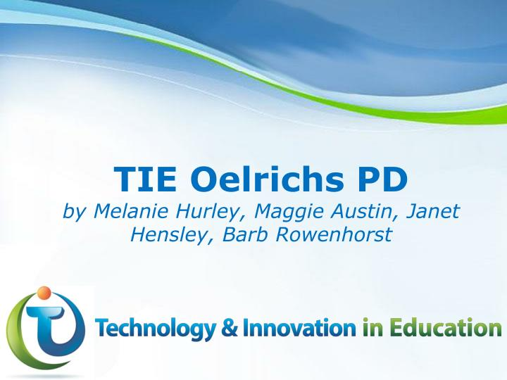 TIE Oelrichs PD