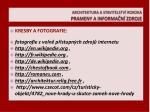 architektura a stavitelstv rokoka prameny a informa n zdroje