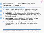berufsschulstandorte in stadt und kreis offenbach historie 3