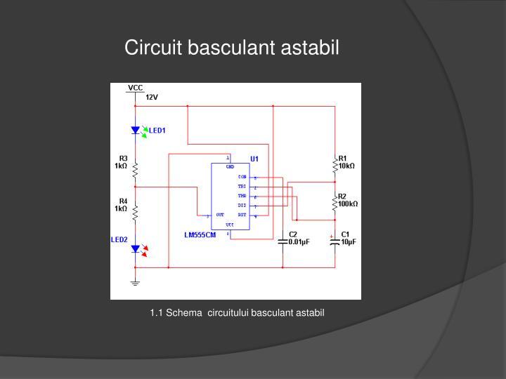Circuit basculant astabil