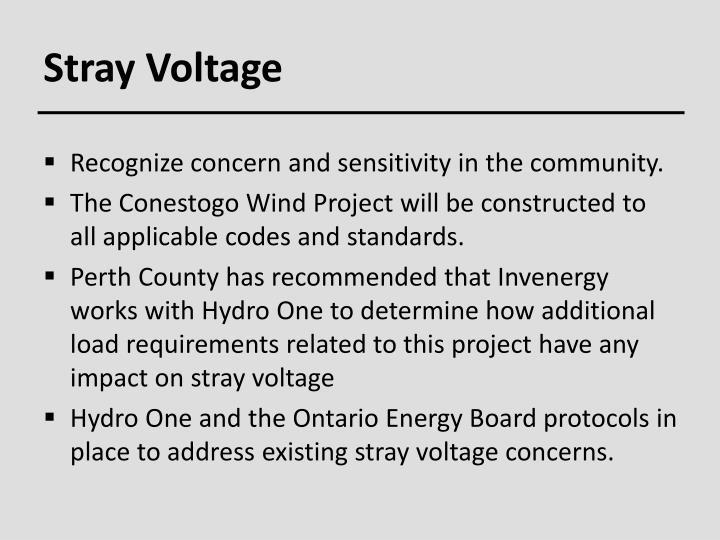 Stray Voltage