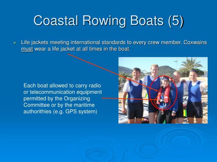 Coastal Rowing Boats (5)