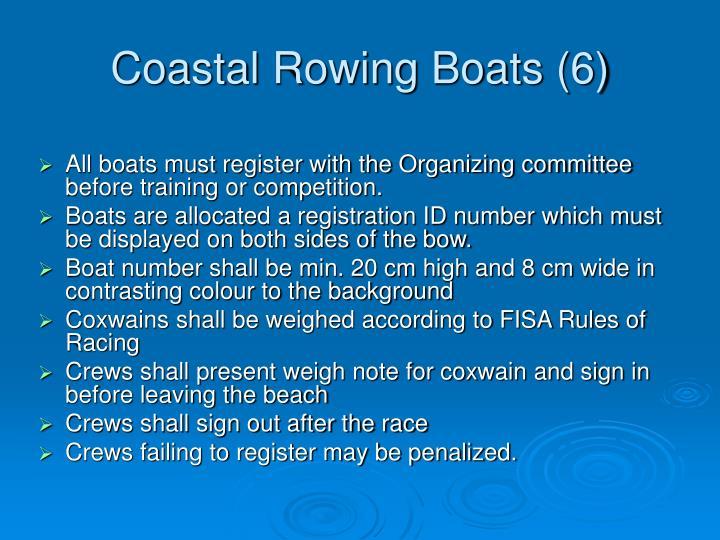 Coastal Rowing Boats (6)