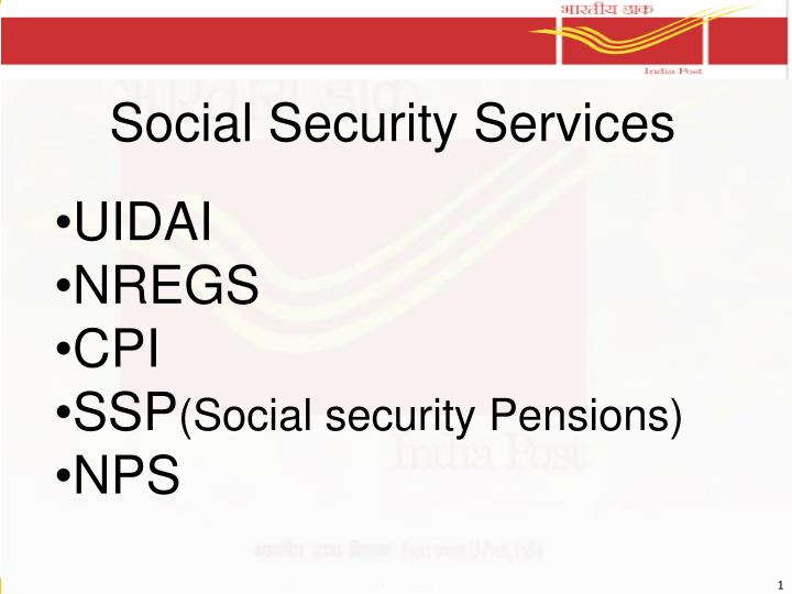 social security services n.