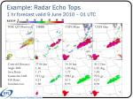 example radar echo tops 1 hr forecast valid 9 june 2010 01 utc2