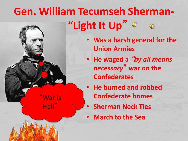 Gen. William Tecumseh Sherman-
