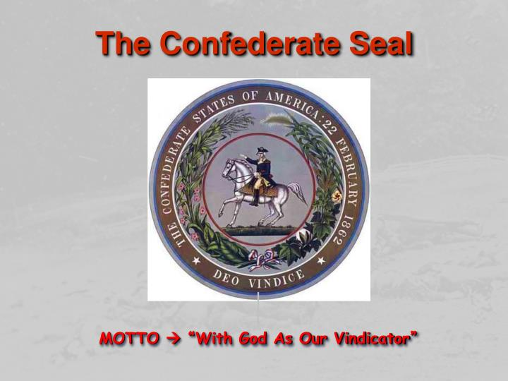 The Confederate Seal
