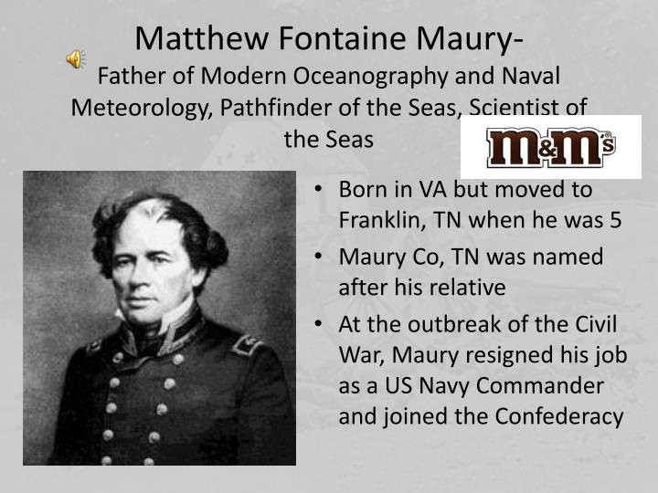 Matthew Fontaine Maury-