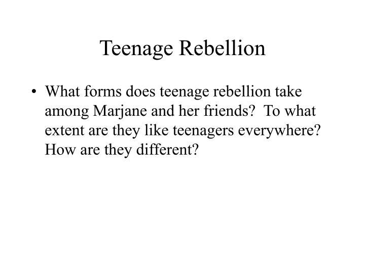 Teenage Rebellion