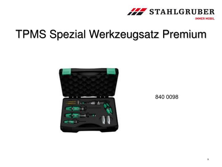 TPMS Spezial Werkzeugsatz Premium