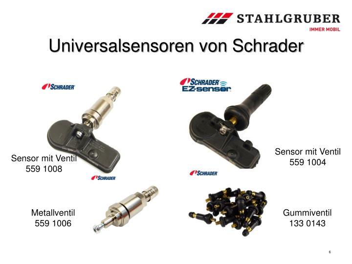 Universalsensoren von Schrader