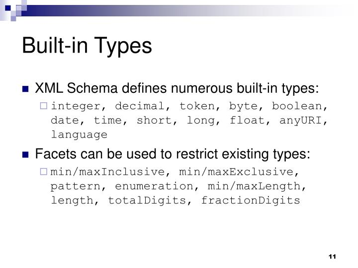 Built-in Types