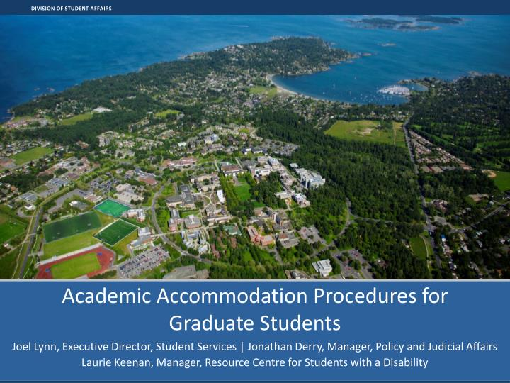 academic accommodation procedures for graduate students n.