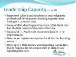 leadership capacity cont d1