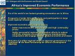 africa s improved economic performance1