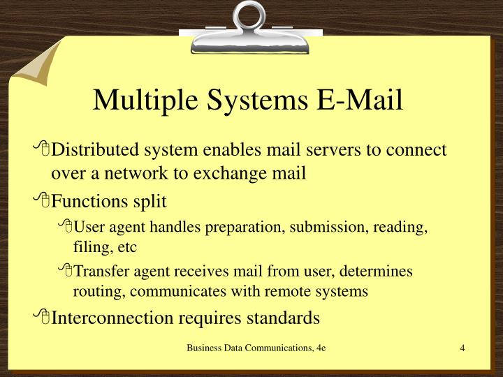 Multiple Systems E-Mail