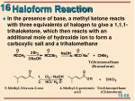 haloform reaction