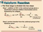 haloform reaction1