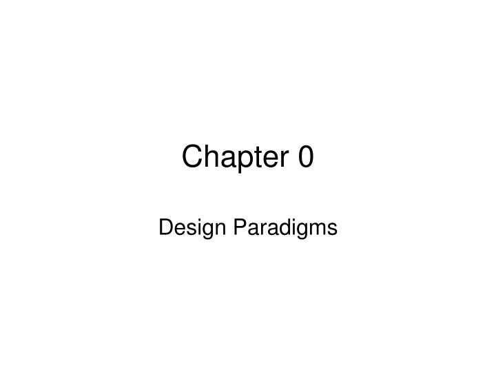 chapter 0 n.