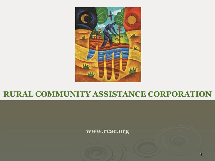 rural community assistance corporation www rcac org n.