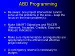 abd programming2