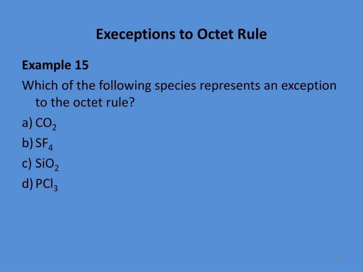 Execeptions
