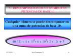 5 descomposici n de un n mero en potencias de base 10
