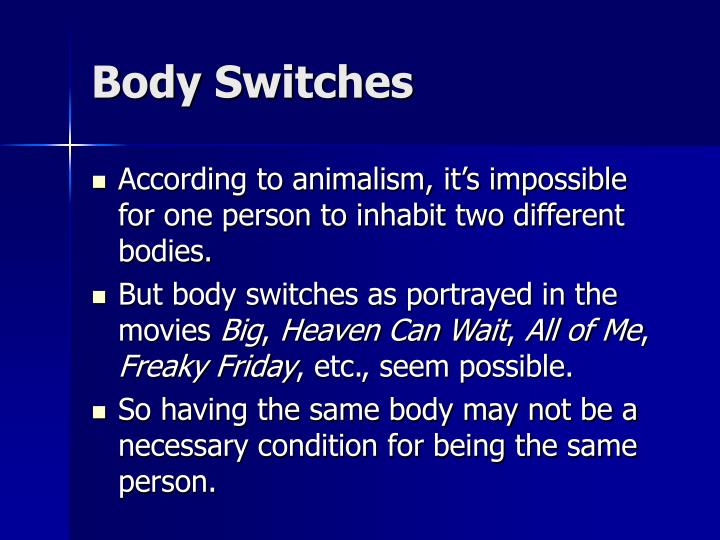Body Switches